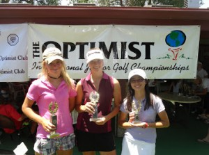Junior Golf winners